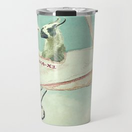 Never Stop Exploring III - THE SKY Travel Mug