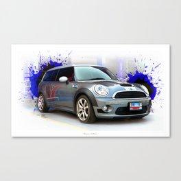 Cars: Mini Cooper S #2 Canvas Print