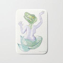TIA T-REX #mermasaur Bath Mat
