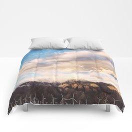 Windmills and Hills Comforters