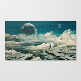 The explorer Canvas Print