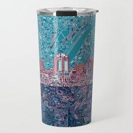 cincinnati city skyline Travel Mug
