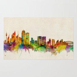 Sydney Skyline Rug