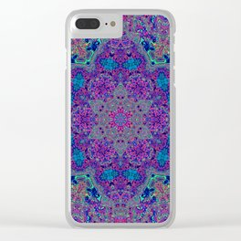 Oil Spill to Flower Clear iPhone Case