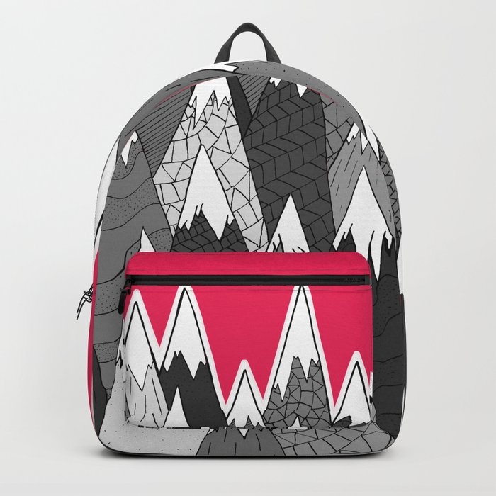 The Tall Grey Mountains Backpack