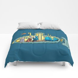 The Submarine of Dr. Khozan Comforters