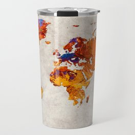 World Map 58 Travel Mug