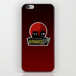 The Adventures of Bat man and Rob Zombie iPhone Skin
