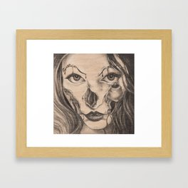 Girl Anachronism Framed Art Print