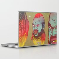 foo fighters Laptop & iPad Skins featuring Pity Da Foo by Beery Method