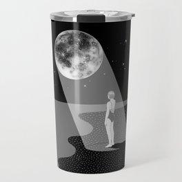 The moon knows me Travel Mug