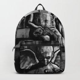 ANGEL OF CUPS - black 8 Backpack