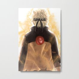 Those Who Inherit the Will of Fire (N) Metal Print