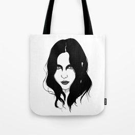 Chelsea Wolfe Tote Bag