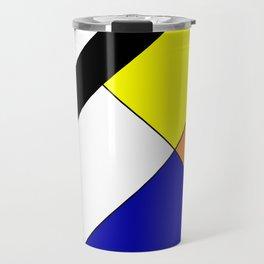 Mondrian #18 Travel Mug