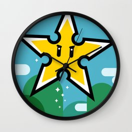 Ninja Star Power Wall Clock