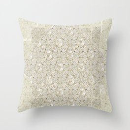 Loose Geometry - by Fanitsa Petrou Throw Pillow