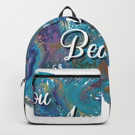 You are beautiful colorful design Backpack