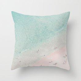 beach - summer of love III Throw Pillow