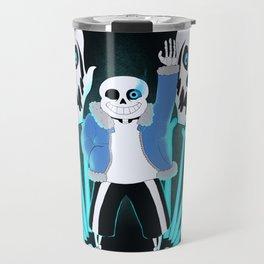Sans the Skeleton Travel Mug
