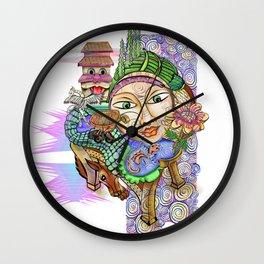 The Garden Chair Wall Clock