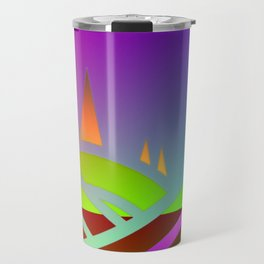 Surreal landscape Travel Mug