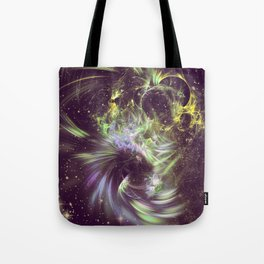 Twisted Time - Black Hole Effects Tote Bag