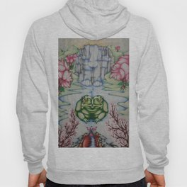 The Toad of Cherry Blossom River Hoody