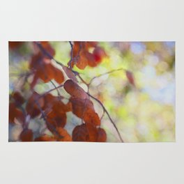 Dreaming on a Summer Day abstract nature photo Rug