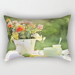 cake color cup Rectangular Pillow
