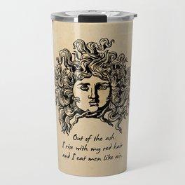 Sylvia Plath - Lady Lazarus Travel Mug