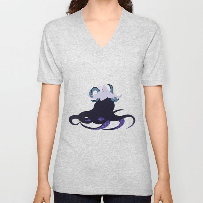 Ursula and her eels Unisex V-Neck