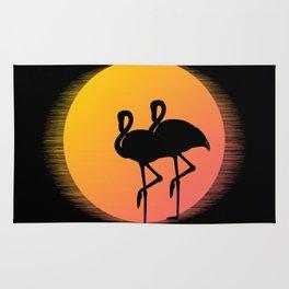 Flamingo Sunset Rug