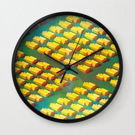 Regularville Wall Clock