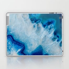 Royally Blue Agate Laptop & iPad Skin