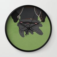 toothless Wall Clocks featuring Toothless by Raquel Segal