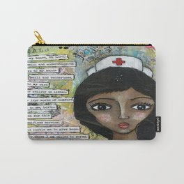 Nurse - African American  Carry-All Pouch