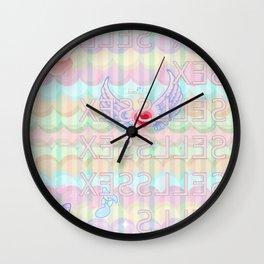 SEX SELLS Wall Clock