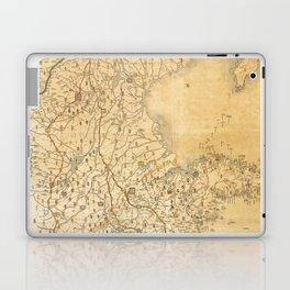 Map of Zhili and Shandong, China (c1855-1870) Laptop & iPad Skin
