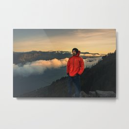 Sunrise Oregon Metal Print