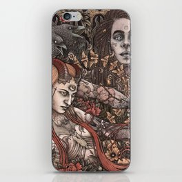 Demons In Colour iPhone Skin