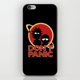 dont panic iPhone Skin