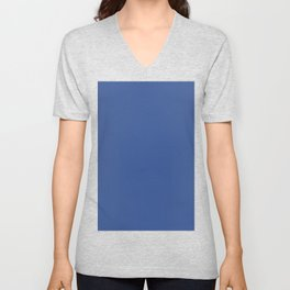 Facebook Blue Unisex V-Neck