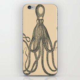 Vintage Octopus iPhone Skin