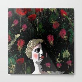 Aphrodite in the gardens Metal Print