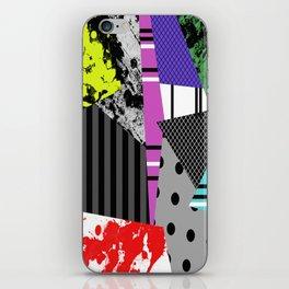 Pick A pattern II - geometric, textured, colourful, splatter, stripes, marble, polka dot, grid iPhone Skin