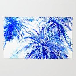 Blue Palms Rug