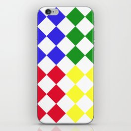 Complementary Triangles iPhone Skin