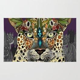 leopard queen Rug