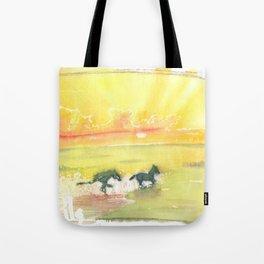 splash of sun Tote Bag